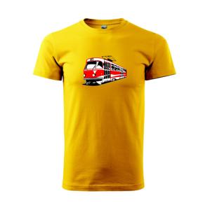 Tramvaj T3R barevná - Heavy new - triko pánské