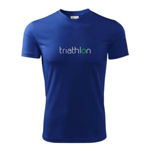 Triathlon - Dětské triko Fantasy sportovní (dresovina)