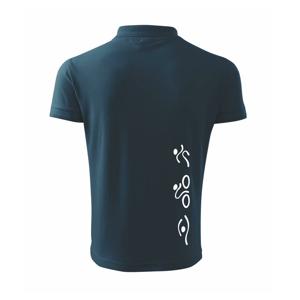 Triathlon na výšku - Polokošile pánská Pique Polo 203