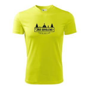 Trochu jiná dovolená stan - Pánské triko Fantasy sportovní (dresovina)
