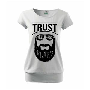 Trust me I have a beard - Volné triko city