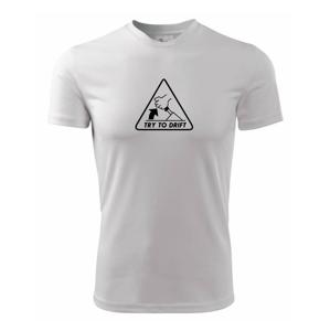Try to drift - Pánské triko Fantasy sportovní