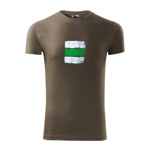 Turistická značka - zelená - Viper FIT pánské triko