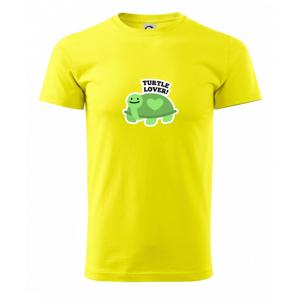 Turtle lover - kreslený - Heavy new - triko pánské