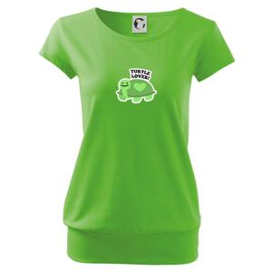 Turtle lover - kreslený - Volné triko city