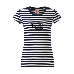 Tužkou kreslený Křeček  - Sailor dámské triko