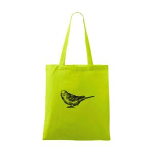 Tužkou kreslený Papoušek - Taška malá