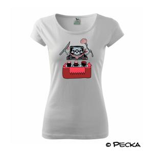 TV vyžírač mozků (Pecka design) - Pure dámské triko
