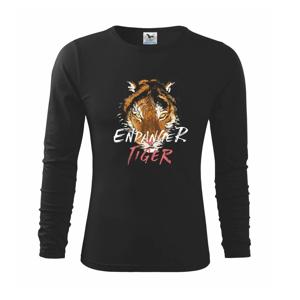 Tygr - endanger - Triko dětské Long Sleeve