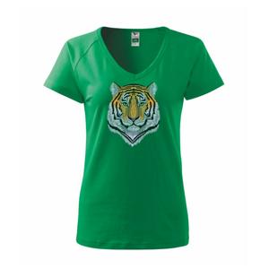 Tygr hlava - Tričko dámské Dream