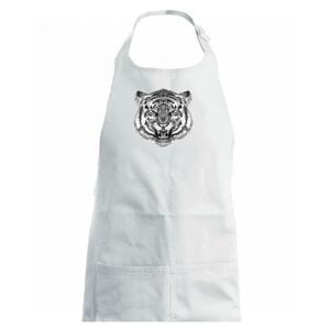 Tygr trošku naštvaný - Dětská zástěra na vaření