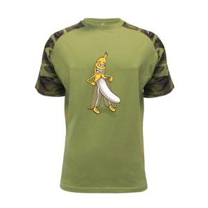 Úchylný banán (Hana-creative) - Raglan Military