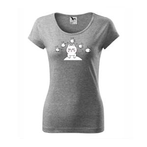 Unavená kočka nemůže spát - Pure dámské triko