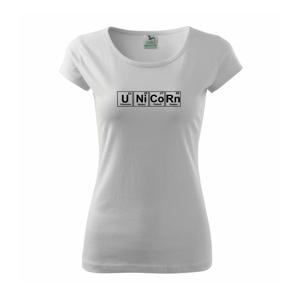 Unicorn tabulka - Pure dámské triko
