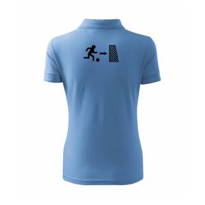 Únik fotbal - Polokošile dámská Pique Polo