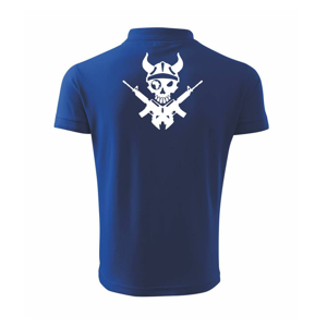 US Navy Seals Skull - Polokošile pánská Pique Polo 203