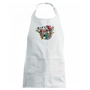 Vánoční Lemurové (Pecka design) - Dětská zástěra na vaření