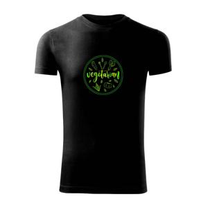 Vegetarián zelenina - Viper FIT pánské triko