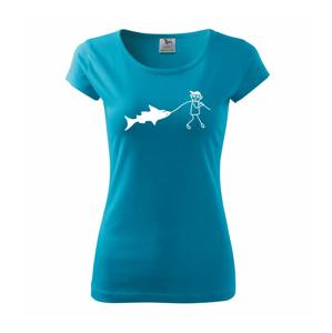 Velký rybář - Pure dámské triko