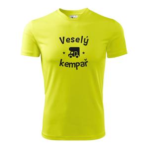 Veselý kempař - Dětské triko Fantasy sportovní (dresovina)