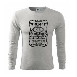 Vintage Etiketa - 1971 - Triko s dlouhým rukávem FIT-T long sleeve
