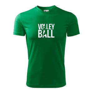 Volejbal nápis - Dětské triko Fantasy sportovní