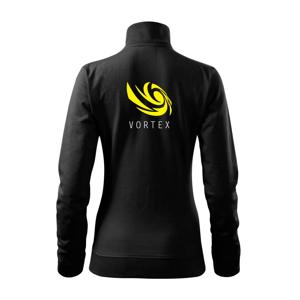 Vortex logo barevné - Mikina dámská Viva bez kapuce