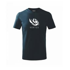 Vortex logo jednobarevné - Triko dětské basic