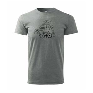 Výhody cyklistiky - Heavy new - triko pánské
