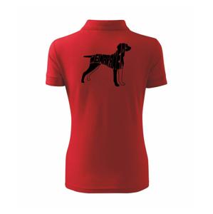 Výmarský ohař - Polokošile dámská Pique Polo
