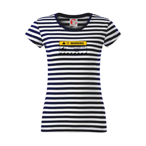 Warning mluvení - sex - Sailor dámské triko