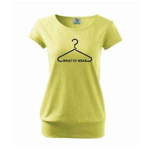 What to wear-ramínko - Volné triko city