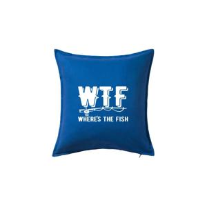 Wheres's the Fish WTF - Polštář 50x50