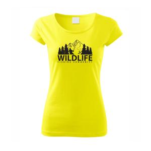 Wildlife fishing - Pure dámské triko