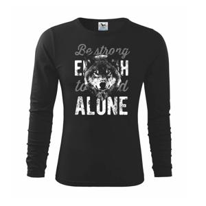 Wolf alone - Triko dětské Long Sleeve