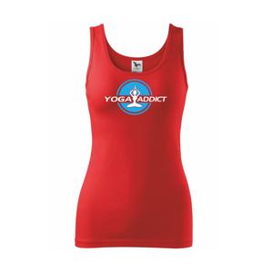 Yoga addict - Tílko triumph
