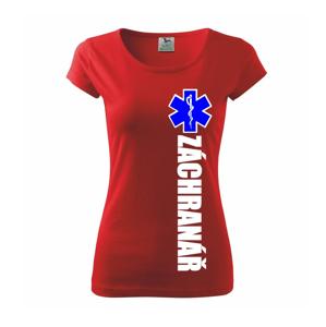Záchranář - hvězda - Pure dámské triko