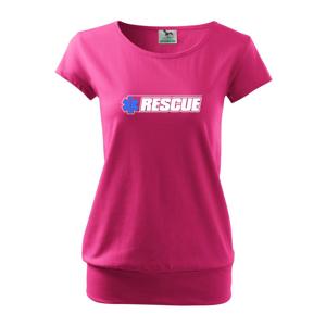 Záchranář rescue kříž - Volné triko city