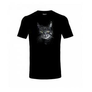 Zadumaná kočka - Triko dětské basic