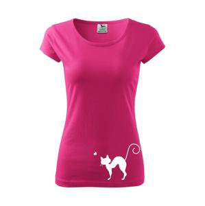 Zamilovaná kočka prohnutá - Pure dámské triko