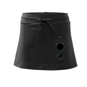 Zbraň ve tmě - Sportovní sukně - two in one