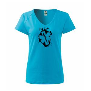 Zdravotnické srdce - Tričko dámské Dream