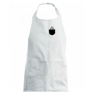 Zebra v kapse - Dětská zástěra na vaření