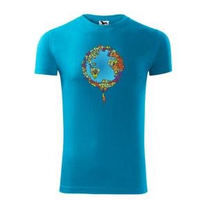 Země plná lidí - Replay FIT pánské triko