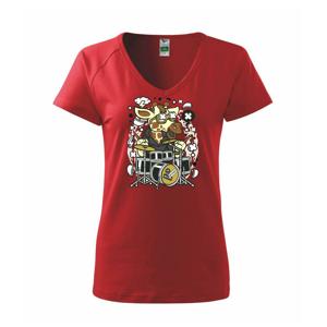Žirafa bubeník - Tričko dámské Dream