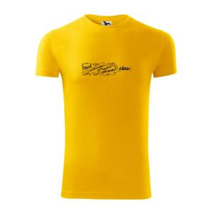 Život je příliš krátký - lahev - Viper FIT pánské triko