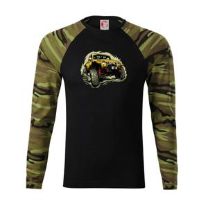 Žlutý offroad s navijákem - Camouflage LS