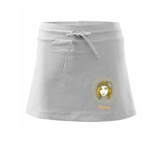 Znamení ženy - Panna CZ (Pecka design) - Sportovní sukně - two in one