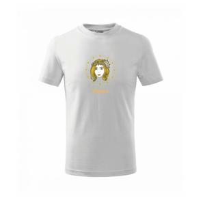 Znamení ženy - Panna CZ (Pecka design) - Triko dětské basic