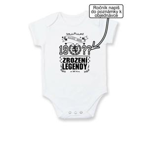 Zrození legendy - český lev - Body kojenecké